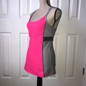 Kyodan Pink Athletic Tank Top S